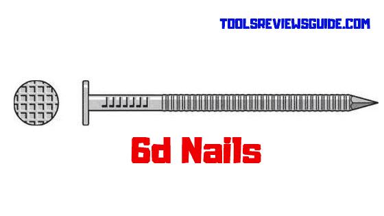 6d Nail Size/Nail Length/Nail Diameter