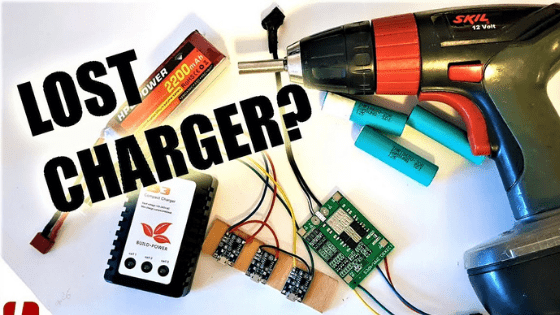 charging a drill battery