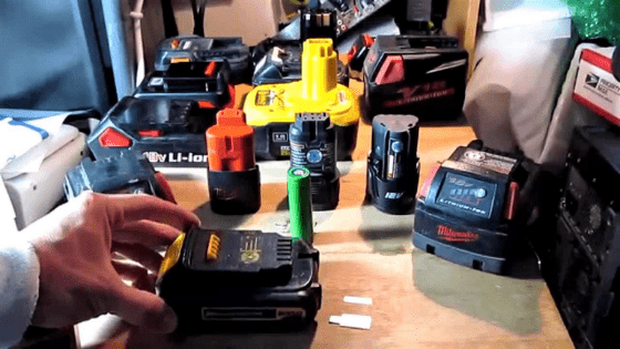 way to charge a drill battery