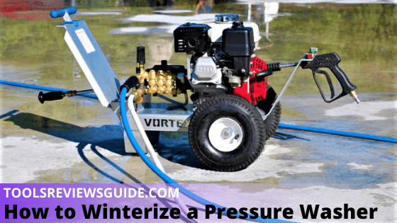 How to Winterize a Pressure Washer