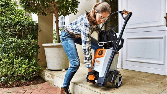 store your pressure washer