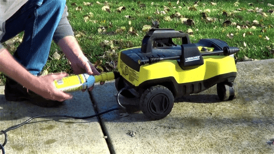 winterize your pressure washer